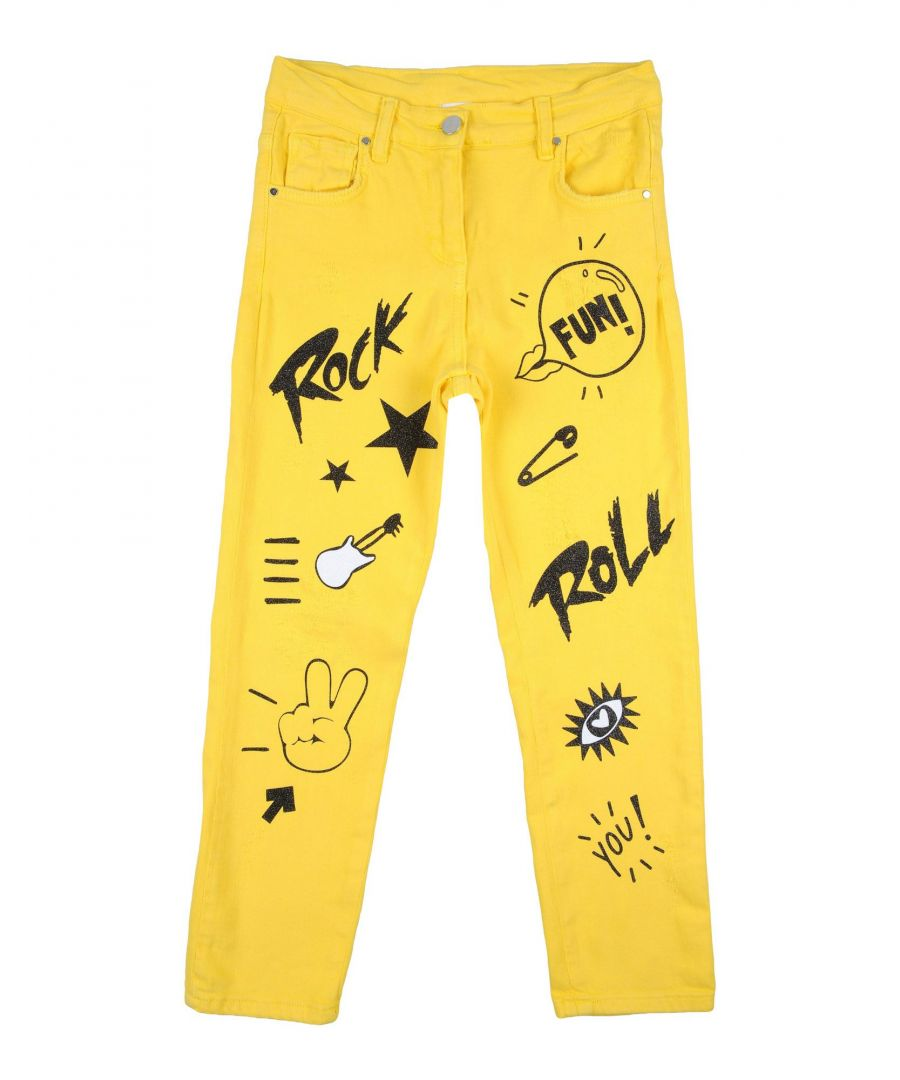 Image for DENIM So Twee By Miss Grant Yellow Girl Cotton