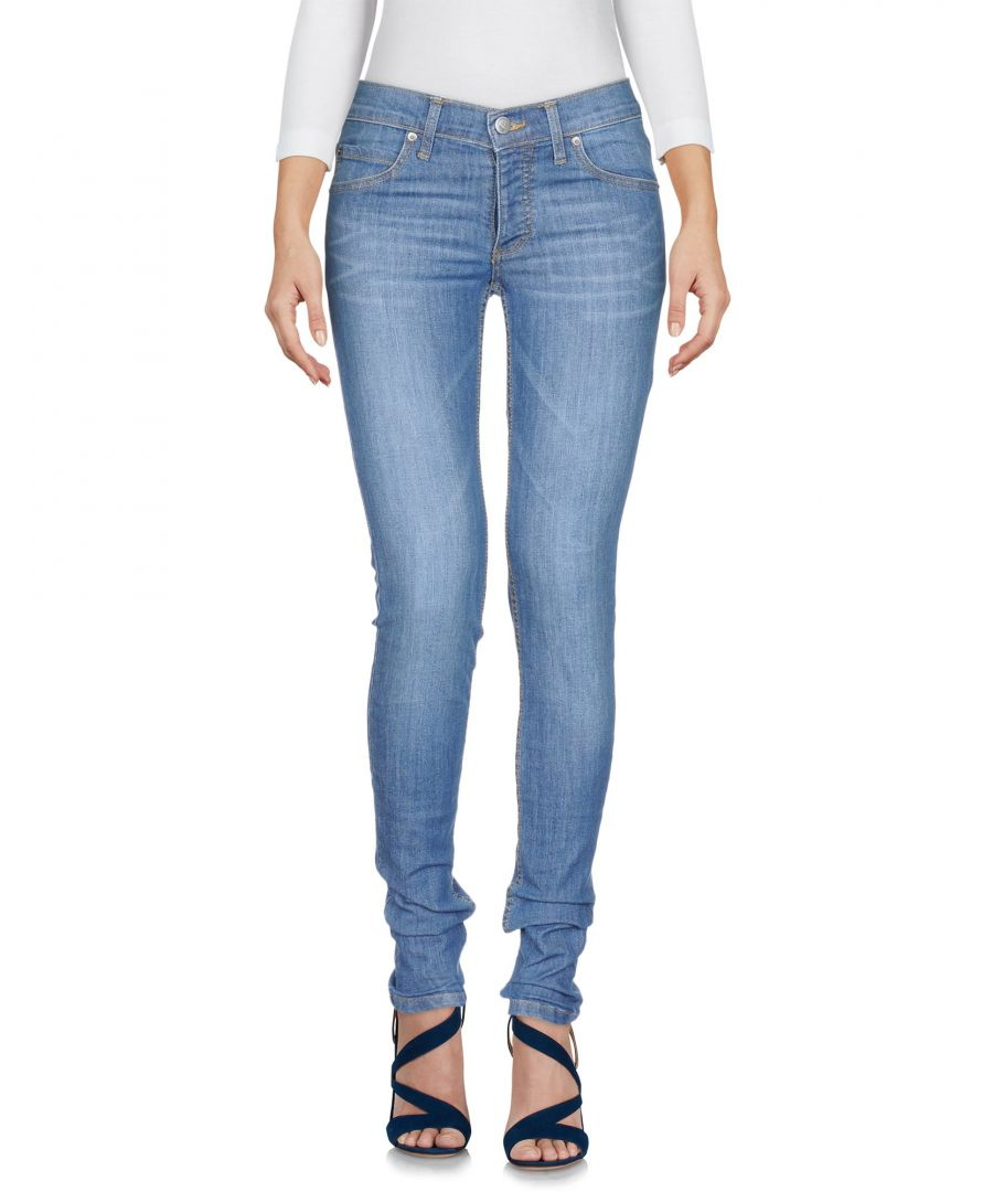 Image for Cheap Monday Blue Cotton Skinny Jeans