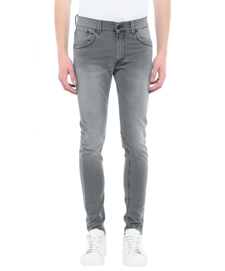 Image for Dondup Grey Cotton Jeans