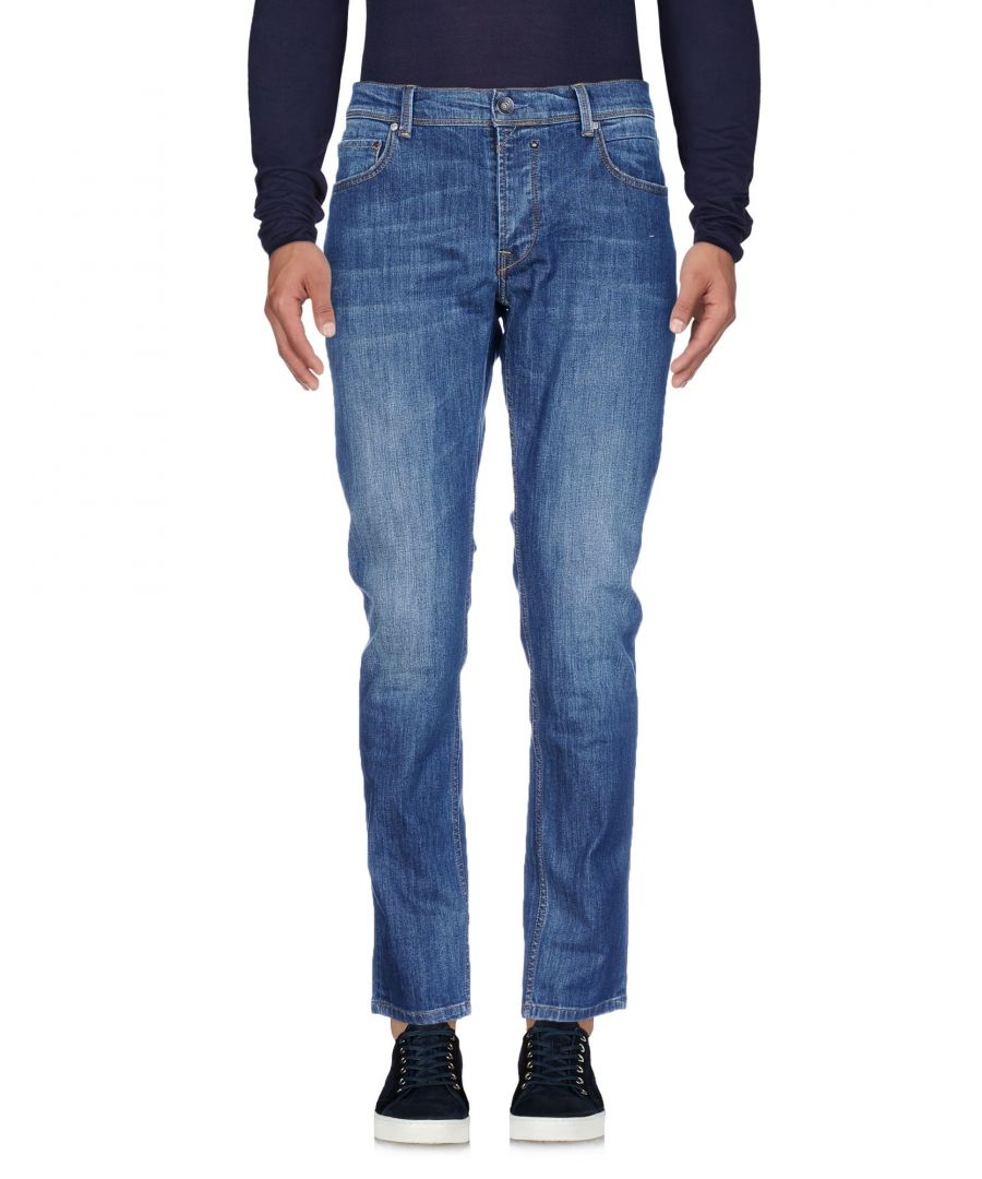 Image for 0/Zero Construction Blue Cotton Jeans