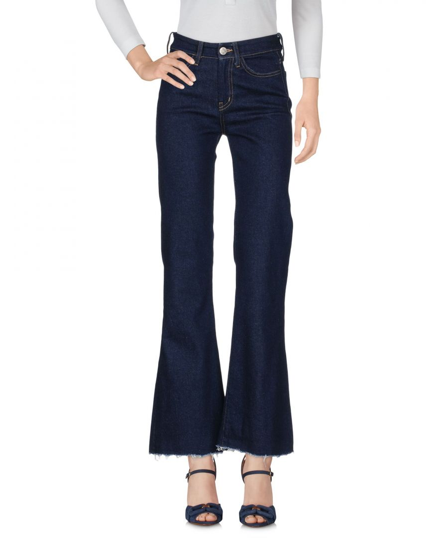 Image for M.I.H Jeans Blue Cotton Bootcut Jeans