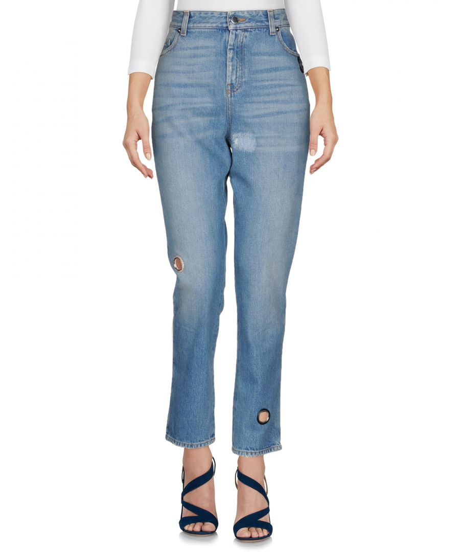 Image for Christopher Kane Blue Cotton Jeans