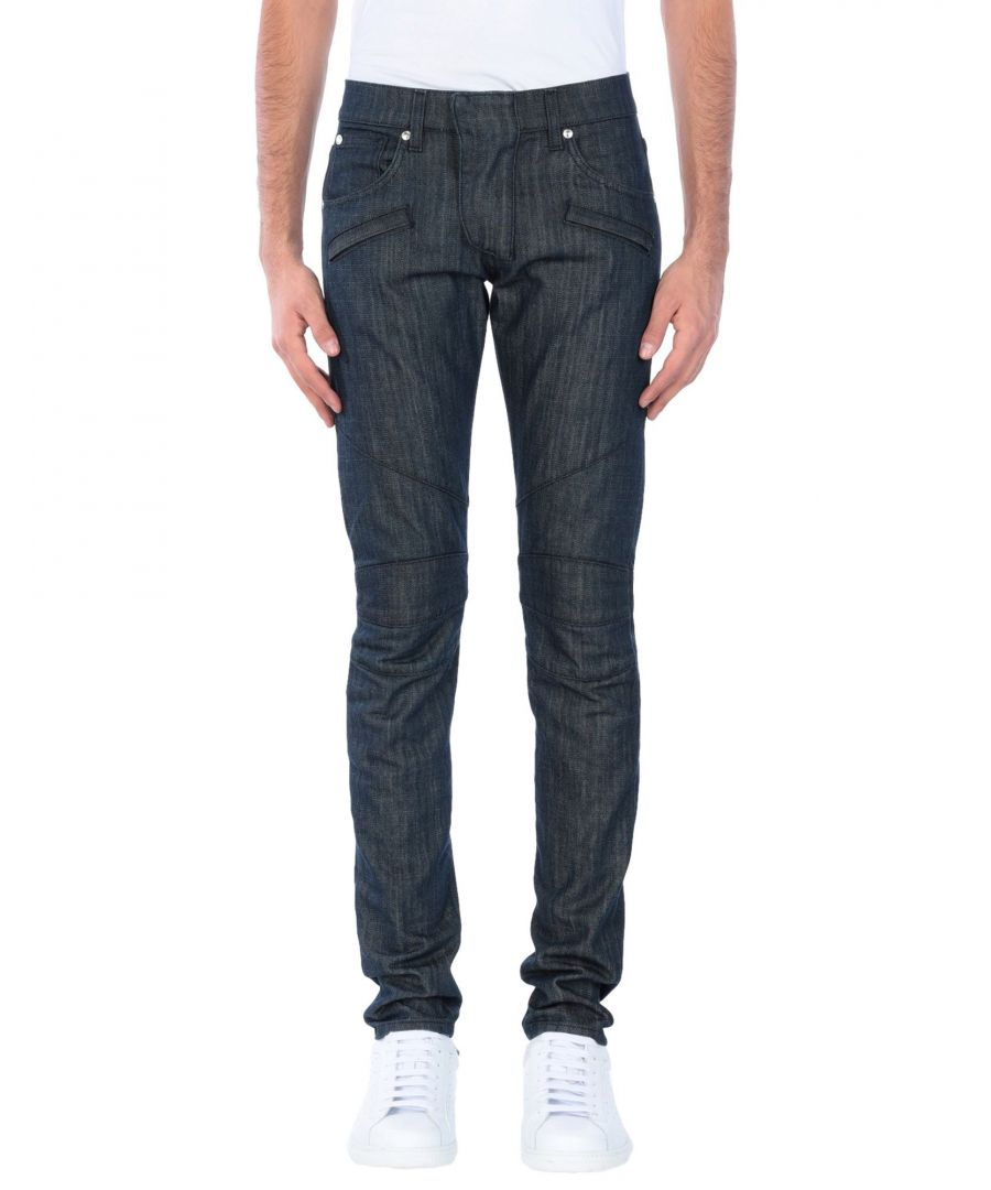 Image for Pierre Balmain Blue Cotton Jeans