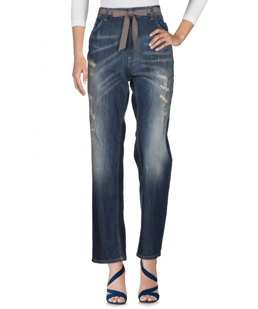 Image for Vicolo Blue Cotton Jeans