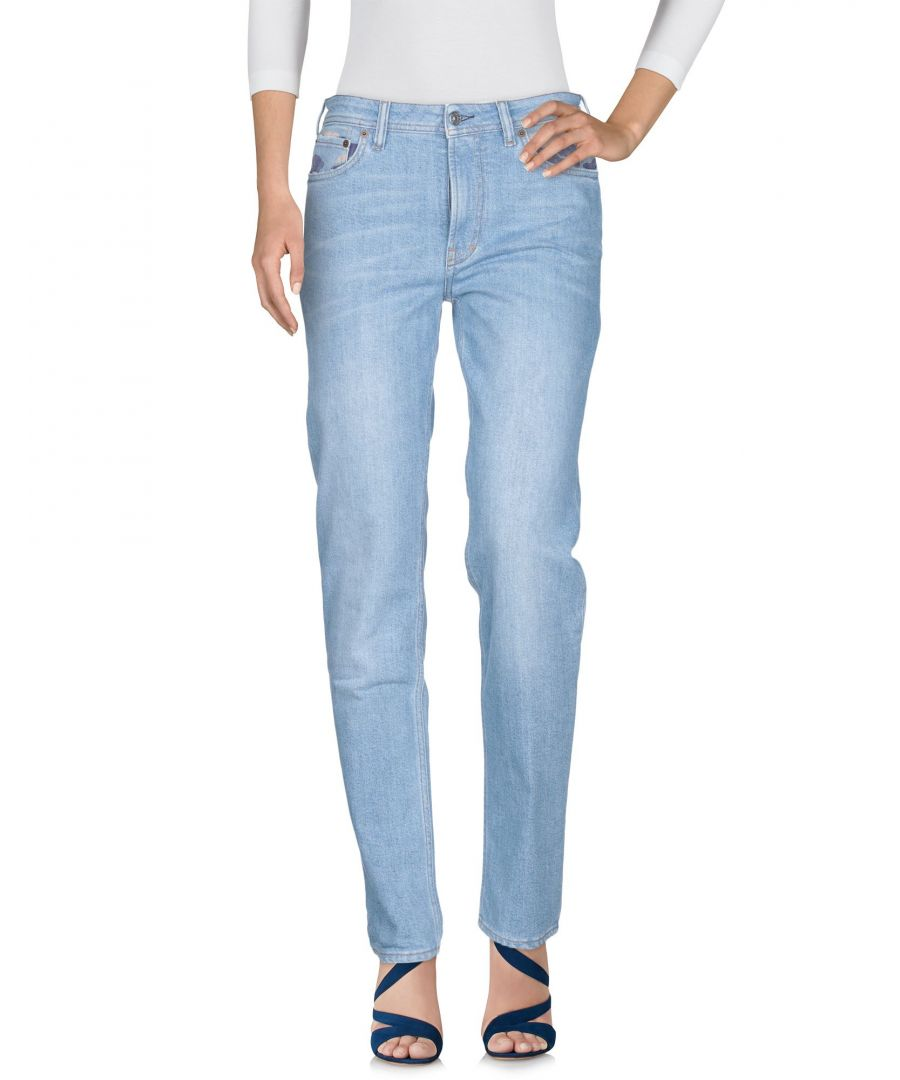 Image for Acne Studios Blå Konst Blue Cotton Jeans