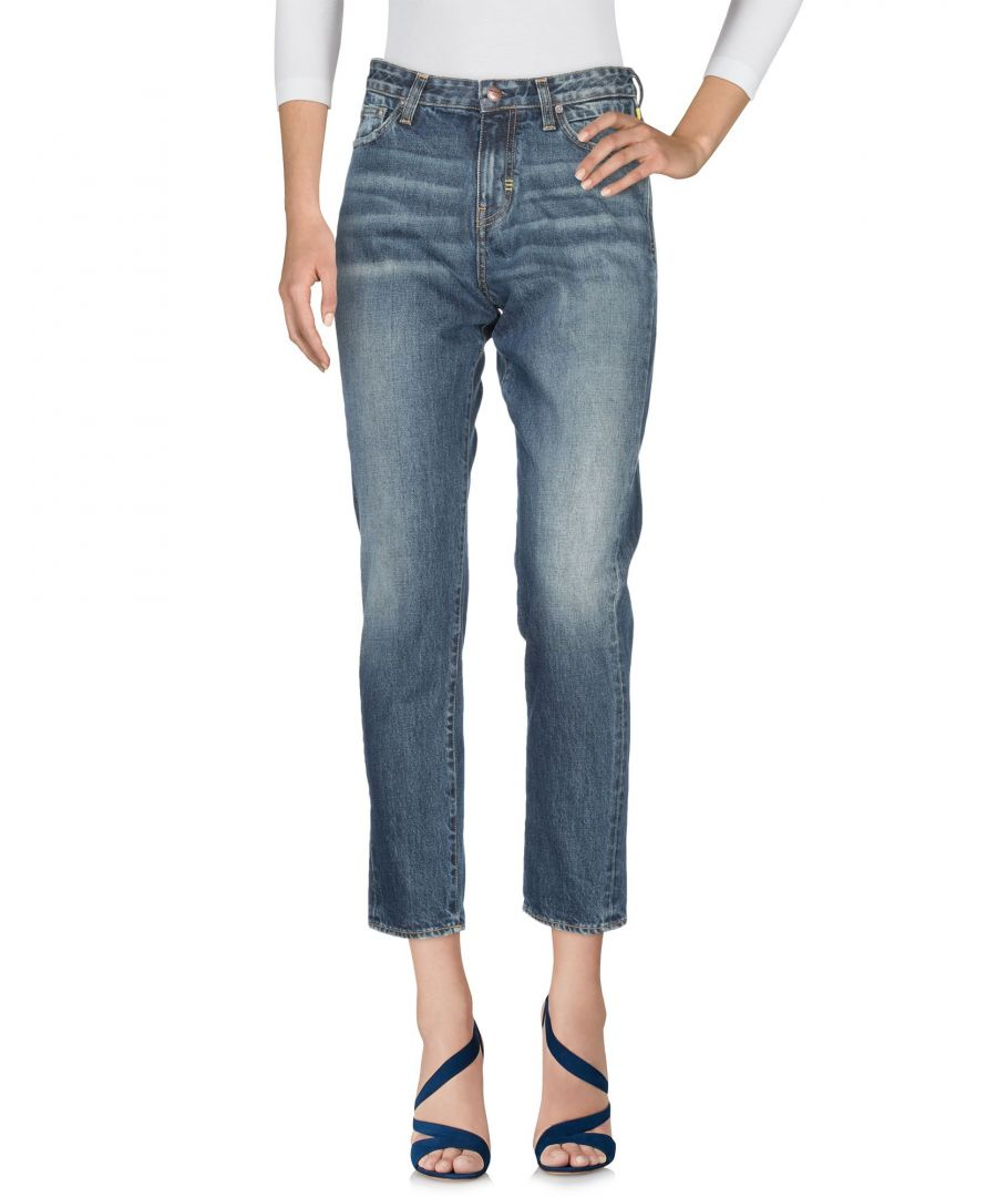 Image for Meltin Pot Blue Cotton Cropped Jeans