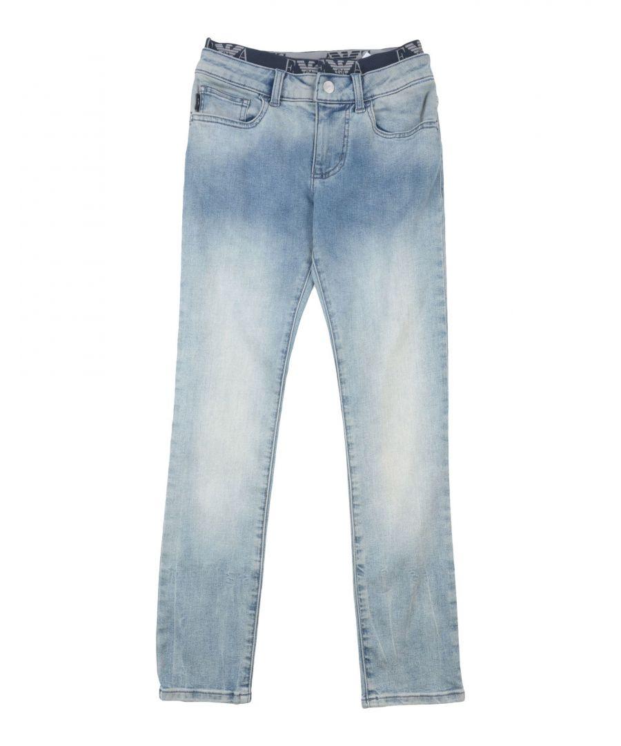 Image for DENIM Boy Emporio Armani Blue Cotton