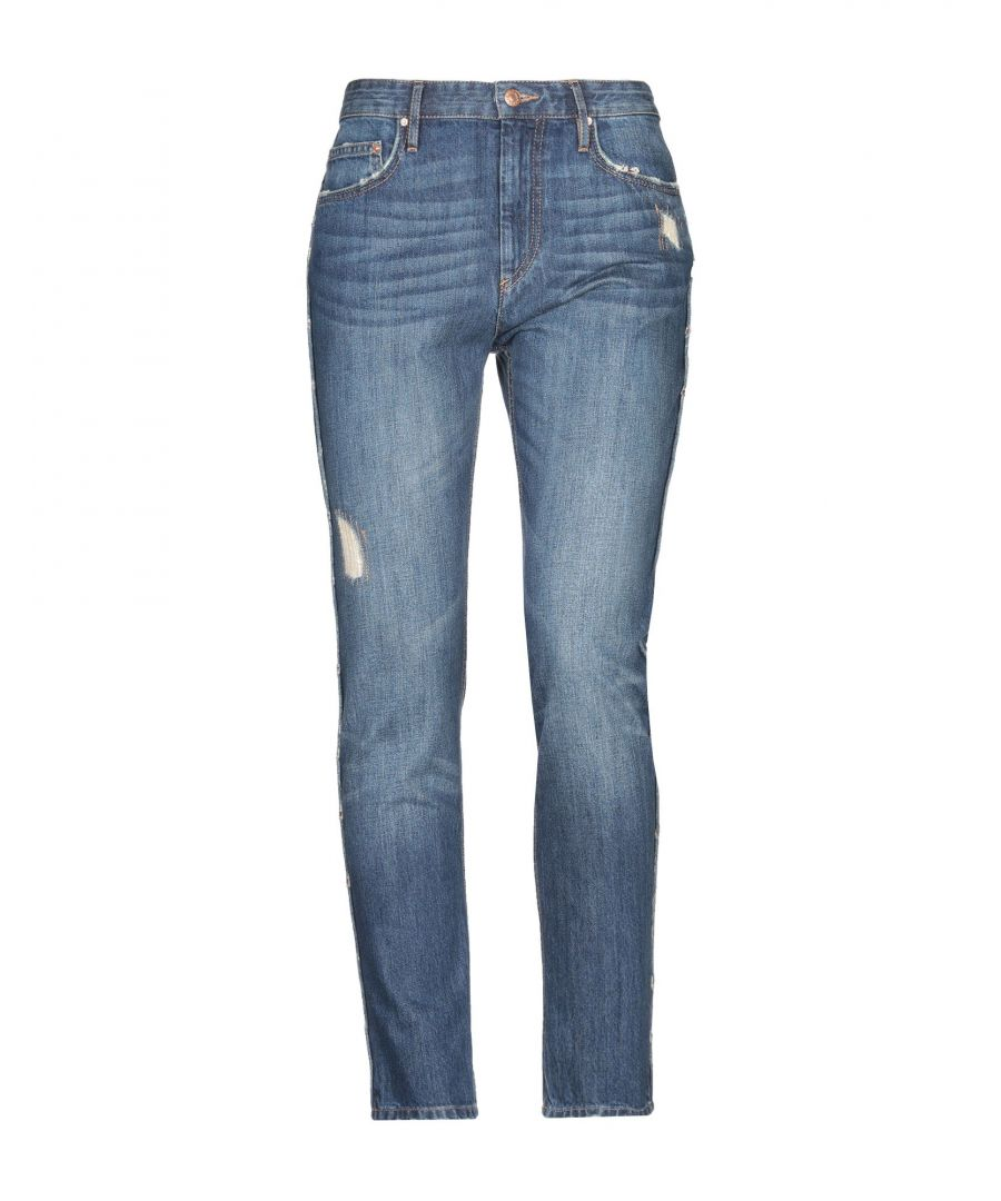 Image for Isabel Marant Etoile Blue Cotton Jeans