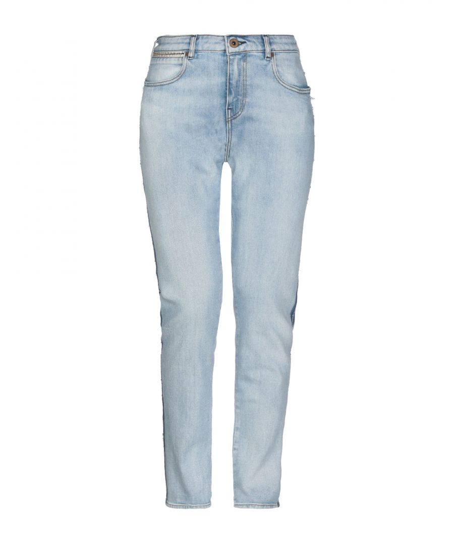 Image for Maison Scotch Blue Cotton Slim Fit Jeans