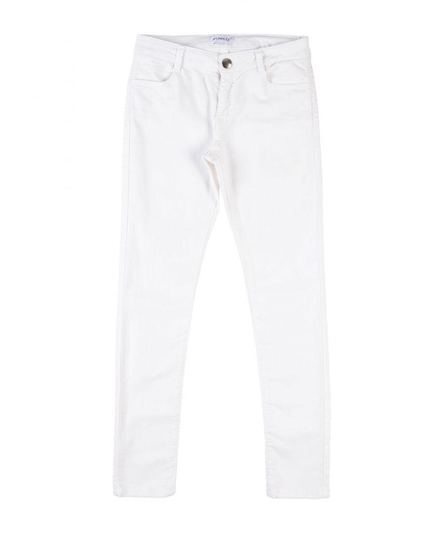 Image for DENIM Girl Pinko Up White Cotton