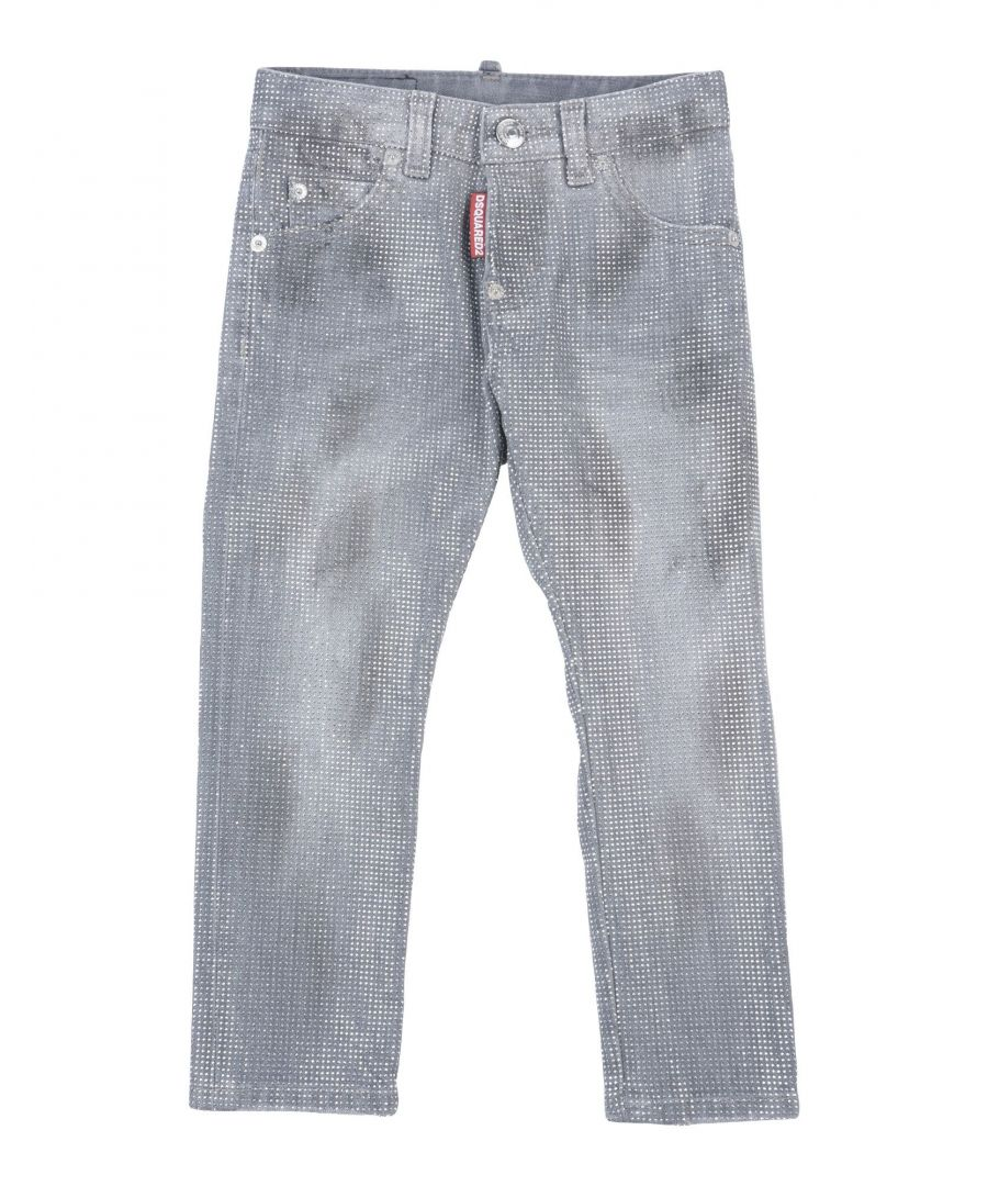 Image for Dsquared2 Grey Denim Trousers