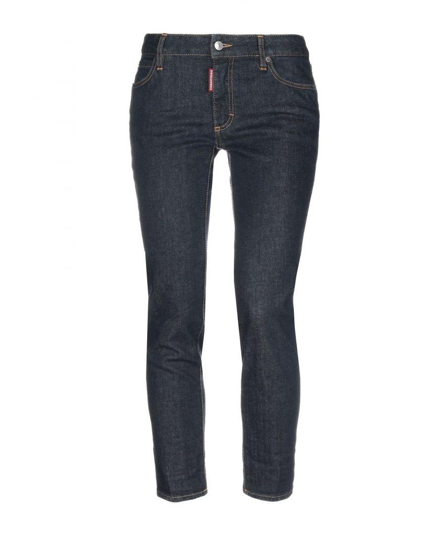 Image for Dsquared2 Blue Cotton Jeans