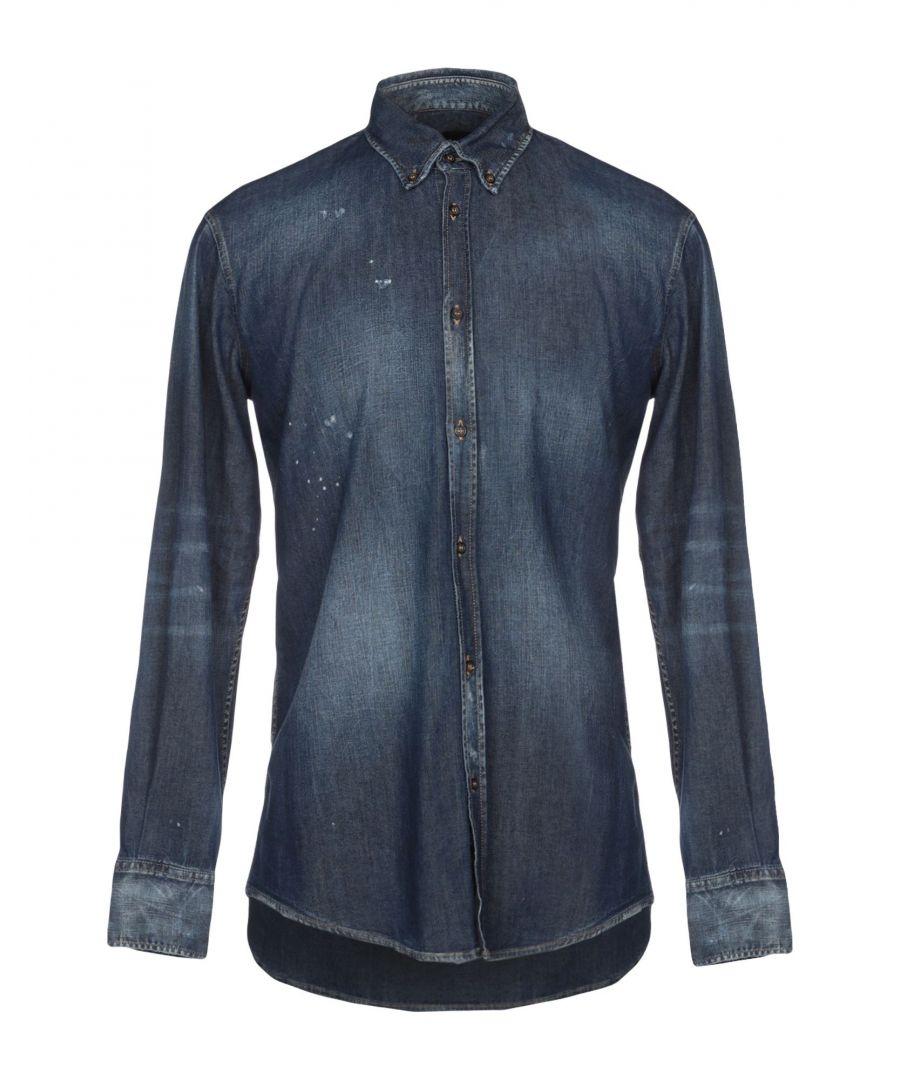 Image for Dsquared2 Blue Denim Shirt