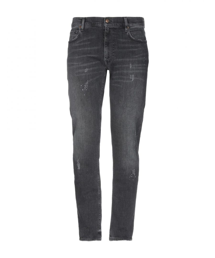 Image for Mauro Grifoni Black Cotton Jeans