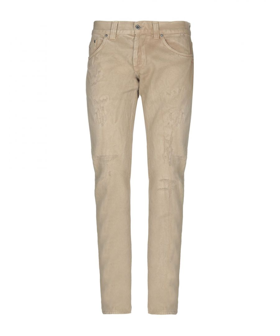 Image for Dondup Camel Cotton Jeans