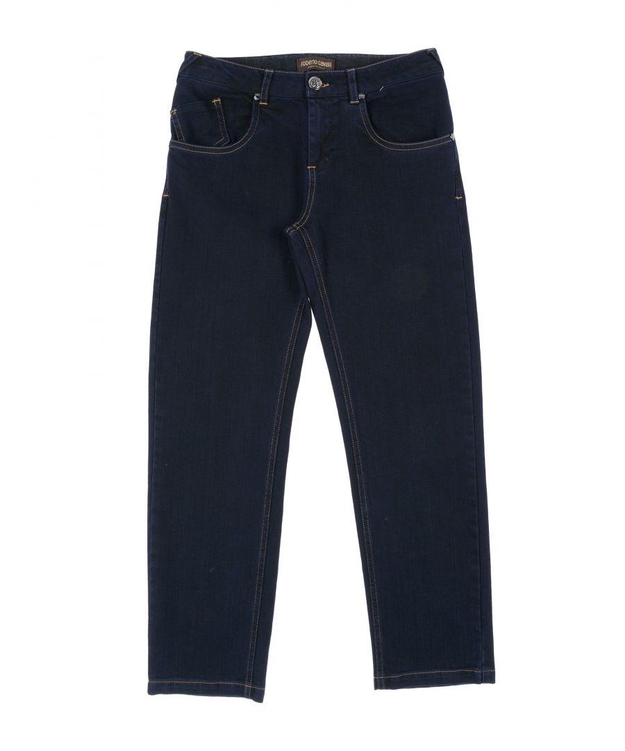 Image for DENIM Girl Roberto Cavalli Junior Blue Cotton