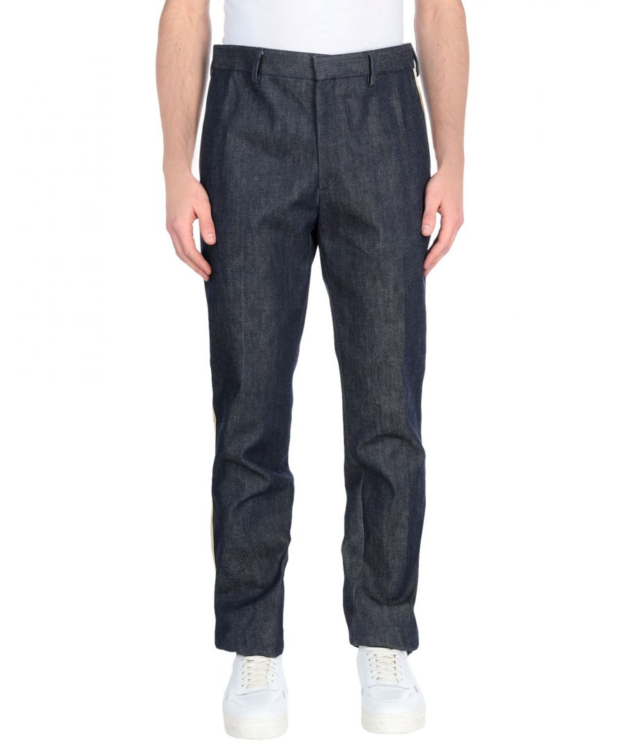 Image for Calvin Klein 205W39Nyc Blue Cotton Straight Leg Jeans
