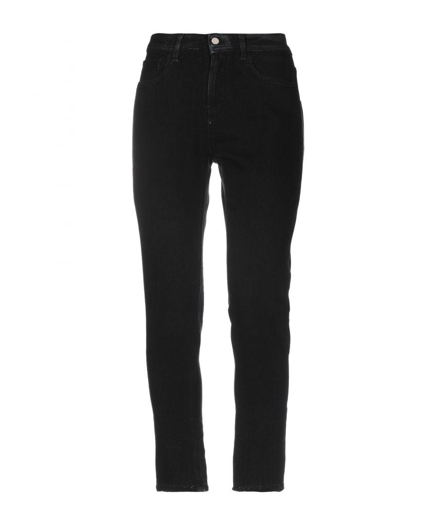 Image for Manila Grace Black Cotton Jeans