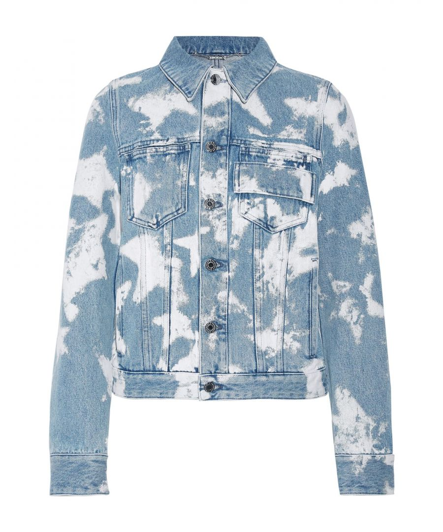 Image for Givenchy Blue Denim Jacket