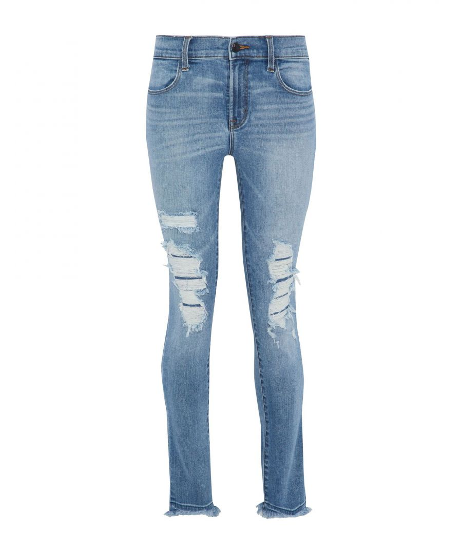 Image for J Brand Blue Cotton Slim Fit Jeans