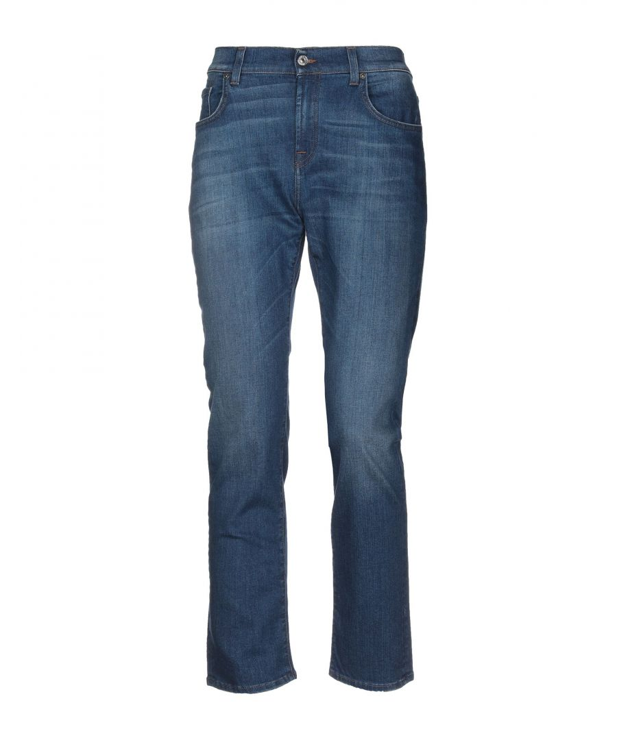 Image for 7 For All Mankind Blue Cotton Bootcut Jeans