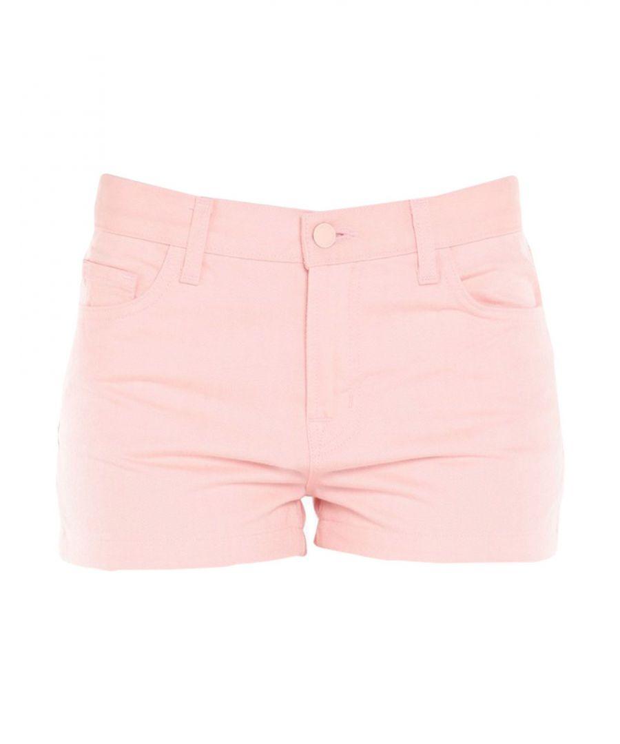 Image for Denim Women's J Brand Pink Cotton