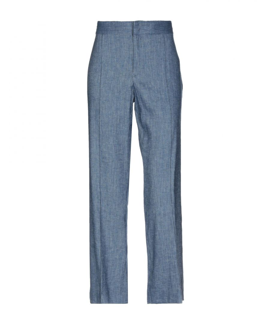 Image for Isabel Marant Etoile Blue Linen Trousers
