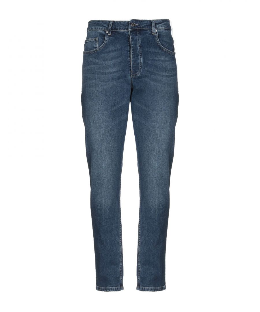 Image for Minimum Blue Cotton Mid Rise Jeans