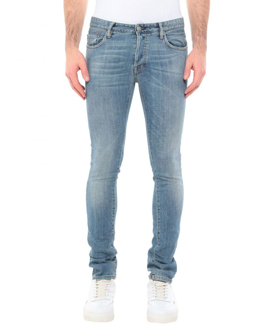 Image for Mauro Grifoni Blue Cotton Light Wash Jeans
