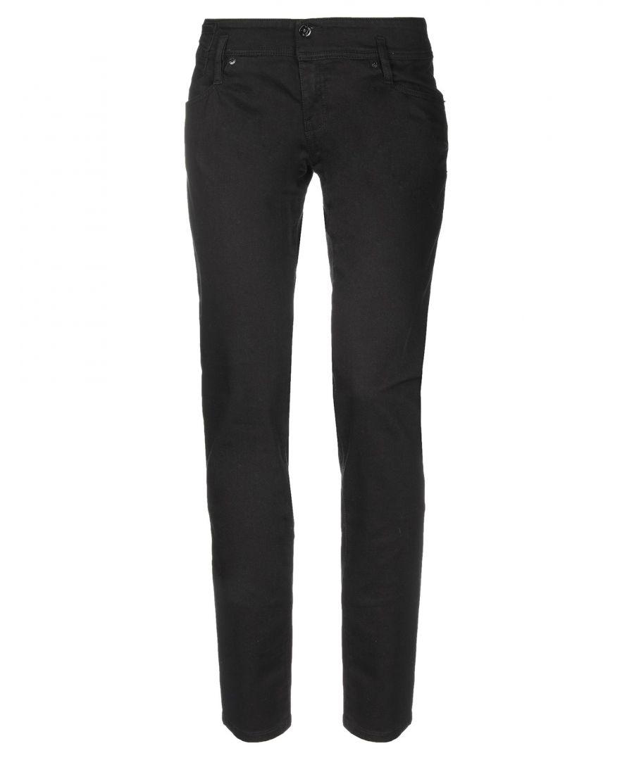 Image for Diesel Black Cotton Jeans