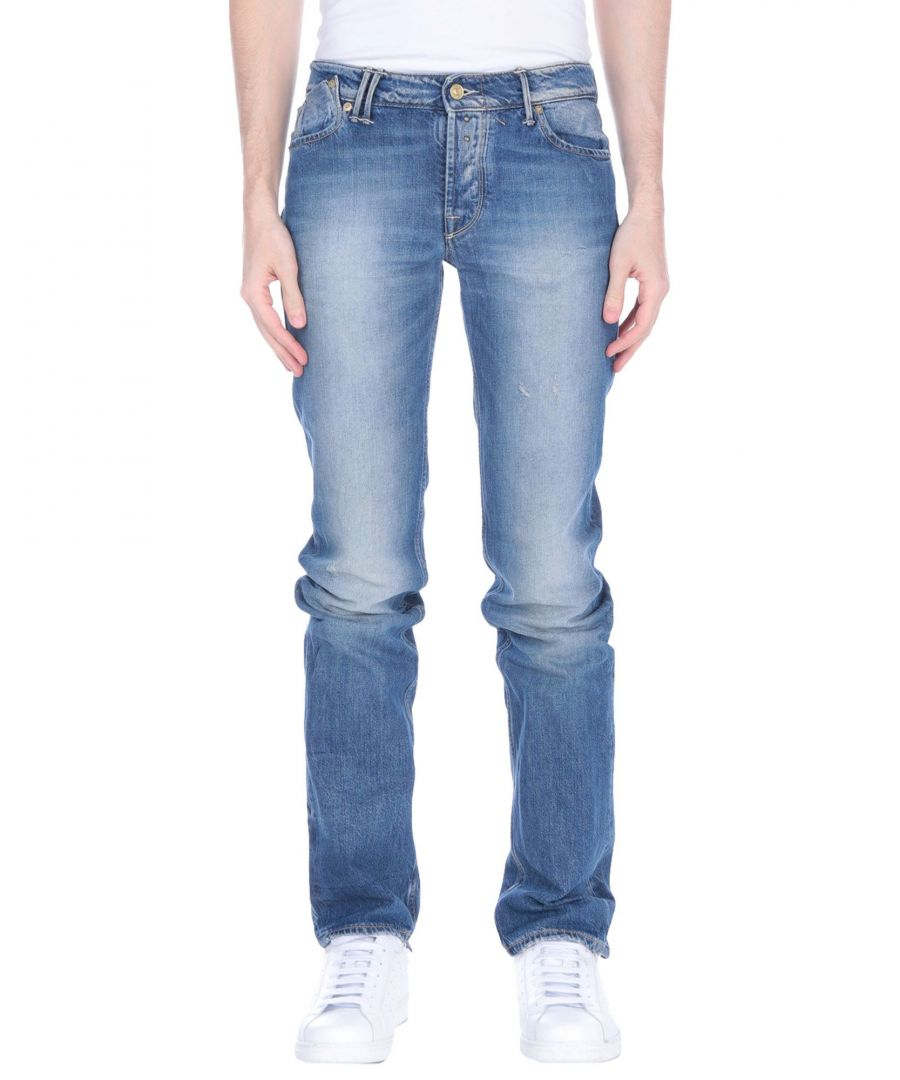 Image for Cycle Blue Cotton Straight Leg Jeans