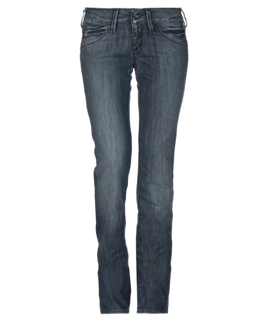 Image for Lee Blue Cotton Jeans