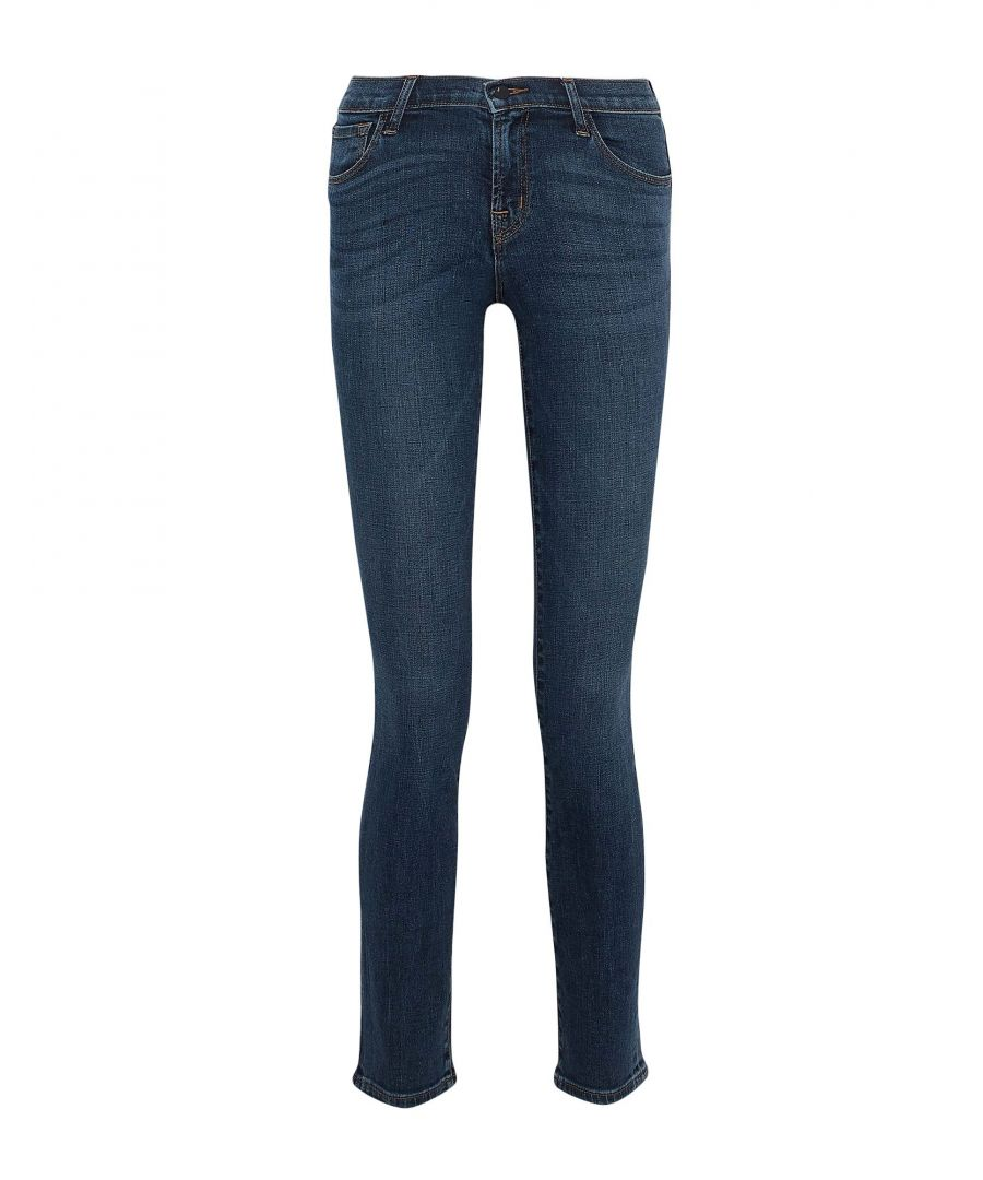 Image for J Brand Blue Cotton Jeans
