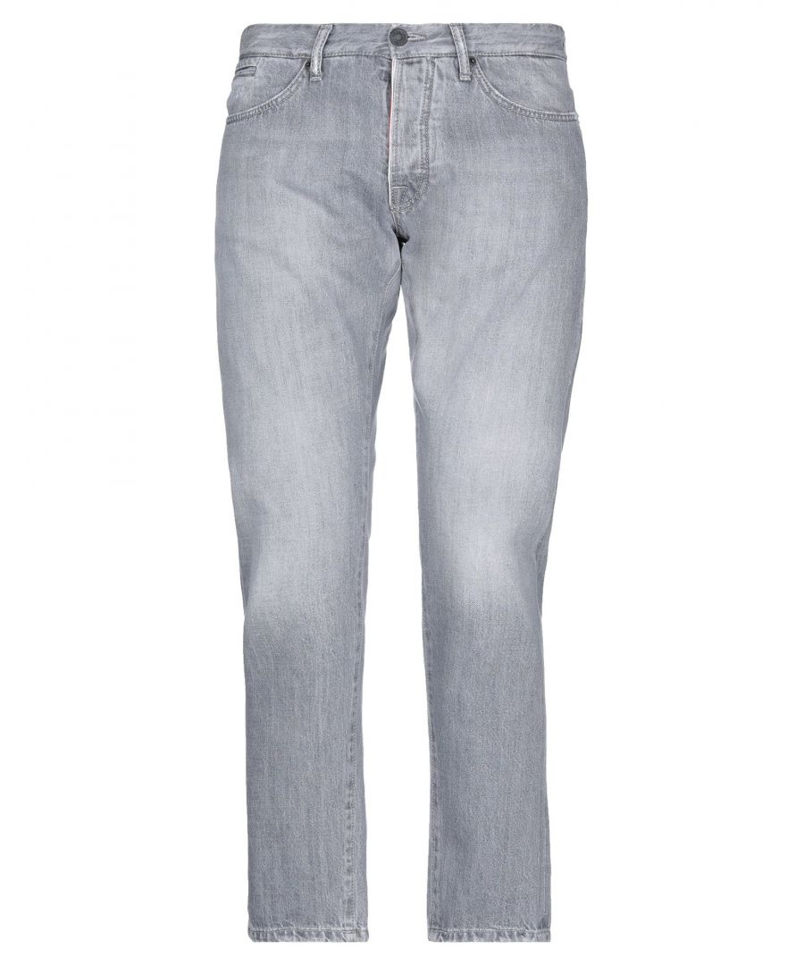 Image for Michael Coal Grey Cotton Jeans