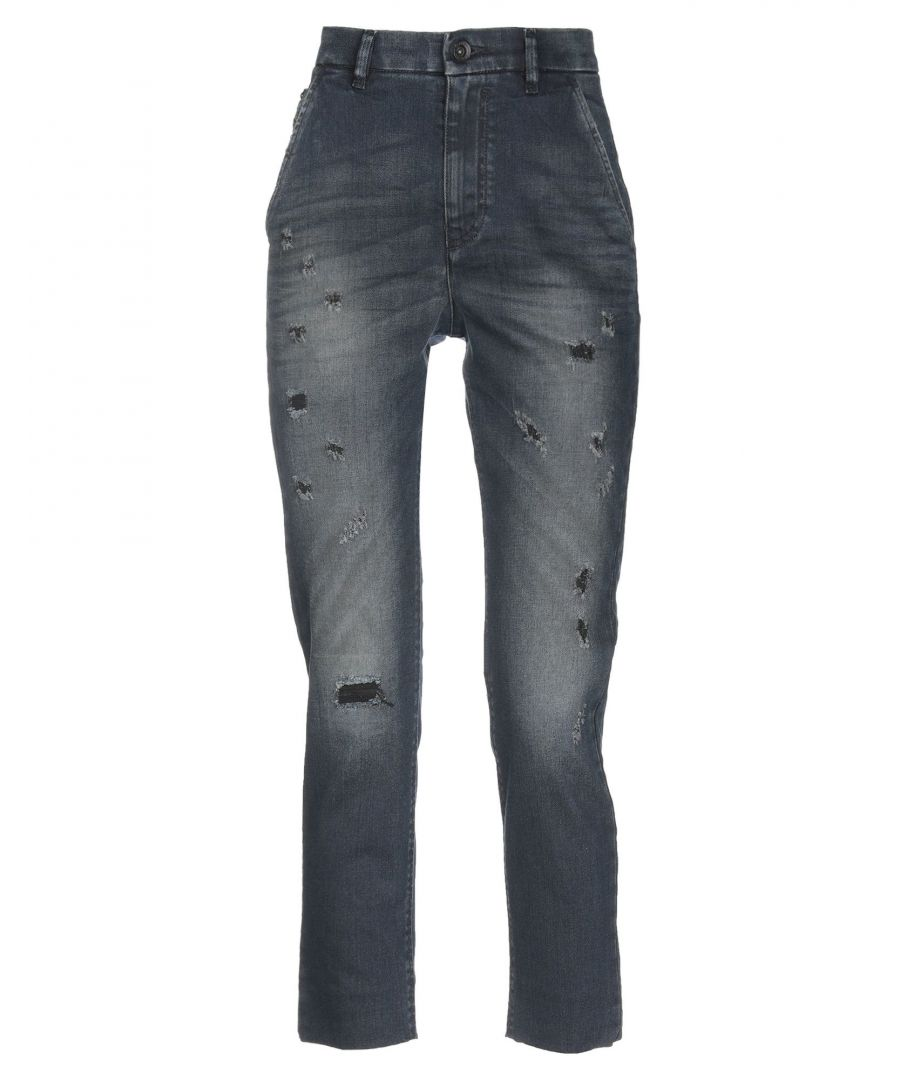 Image for Diesel Blue Cotton Jeans