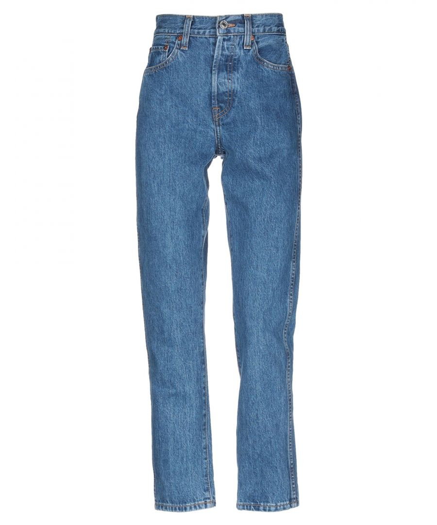 Image for Re/Done Blue Cotton Jeans