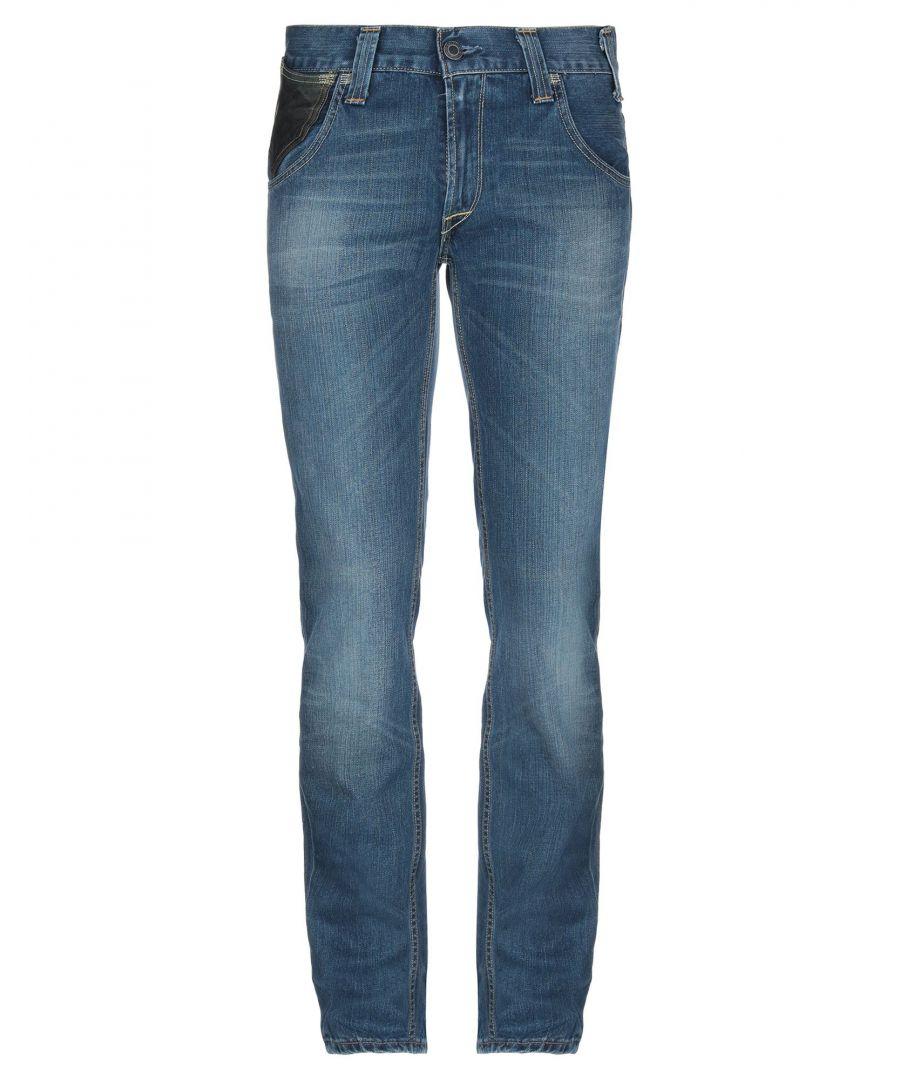 Image for Levi's Blue Cotton Mid Rise Jeans