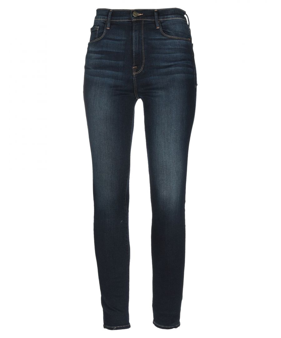 Image for Frame Blue Cotton Skinny Jeans