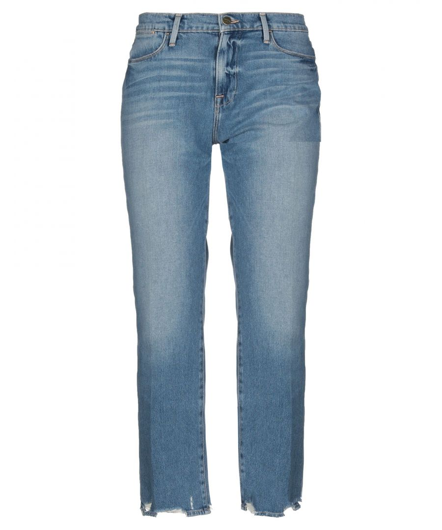 Image for Frame Blue Cotton Jeans