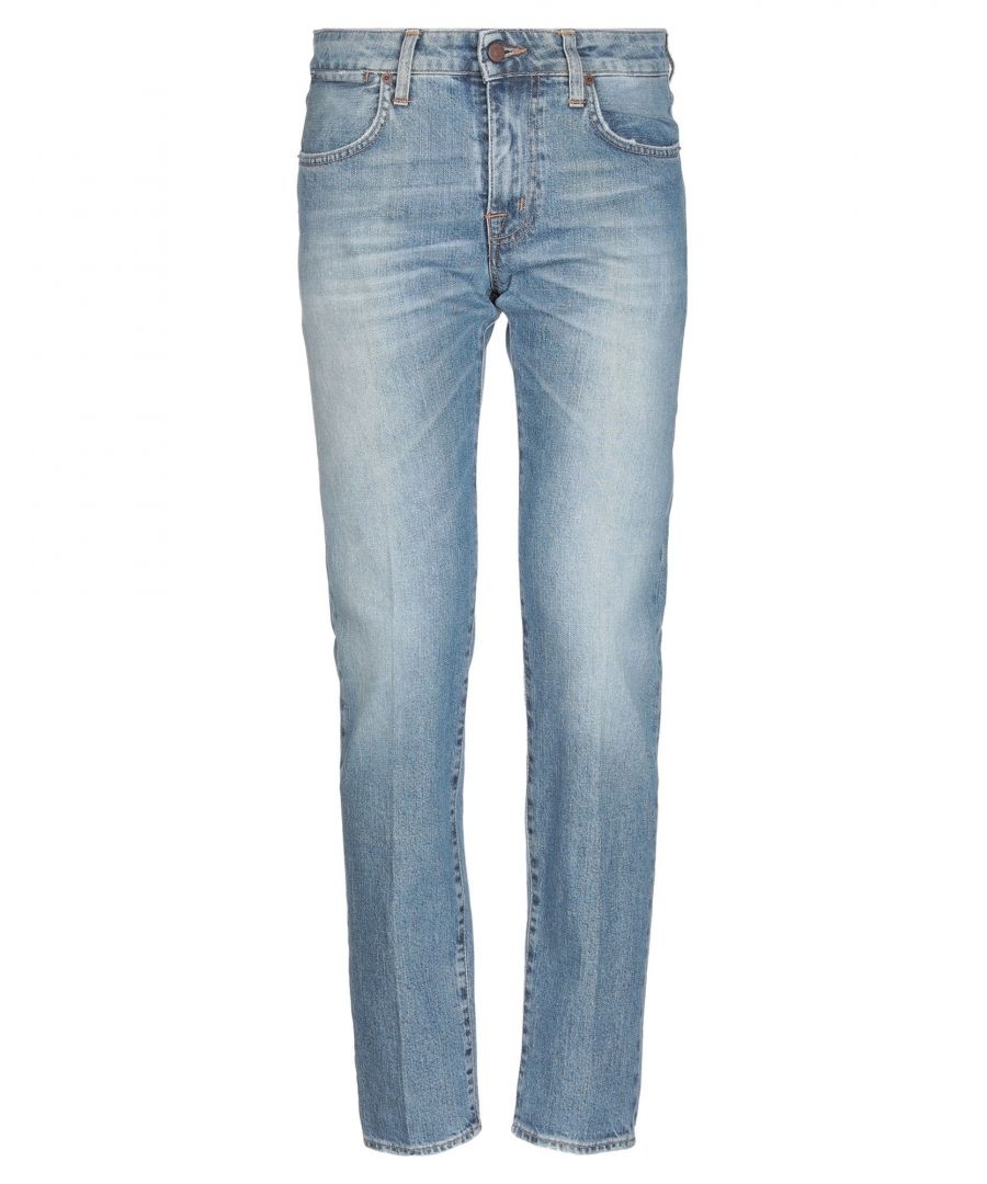 Image for (+) People Blue Cotton Jeans