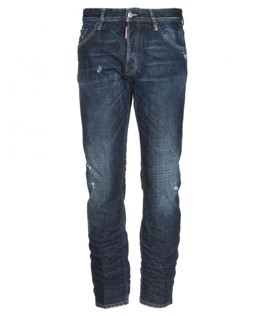 Image for Dsquared2 Blue Cotton Jeans