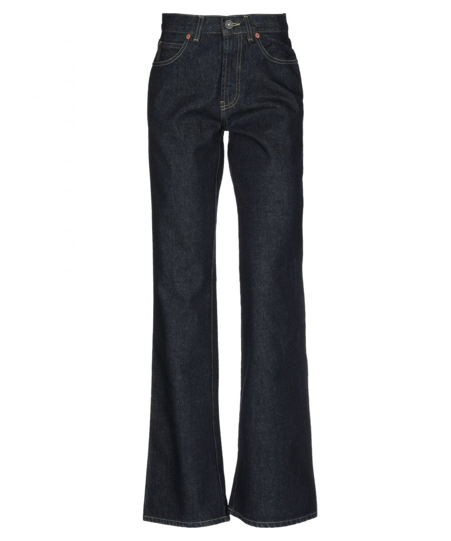 Image for Meltin Pot Blue Cotton Flare Jeans