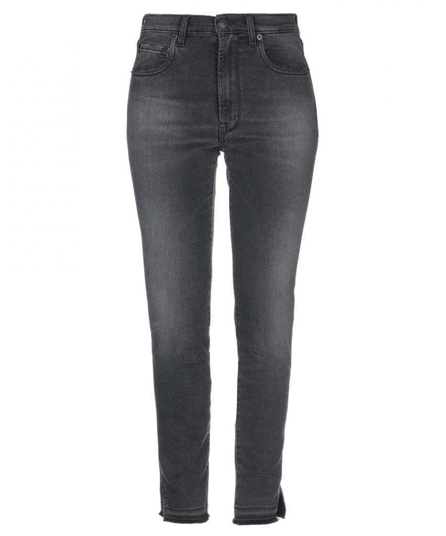 Image for (+) People Steel Grey Cotton Slim Fit Jeans