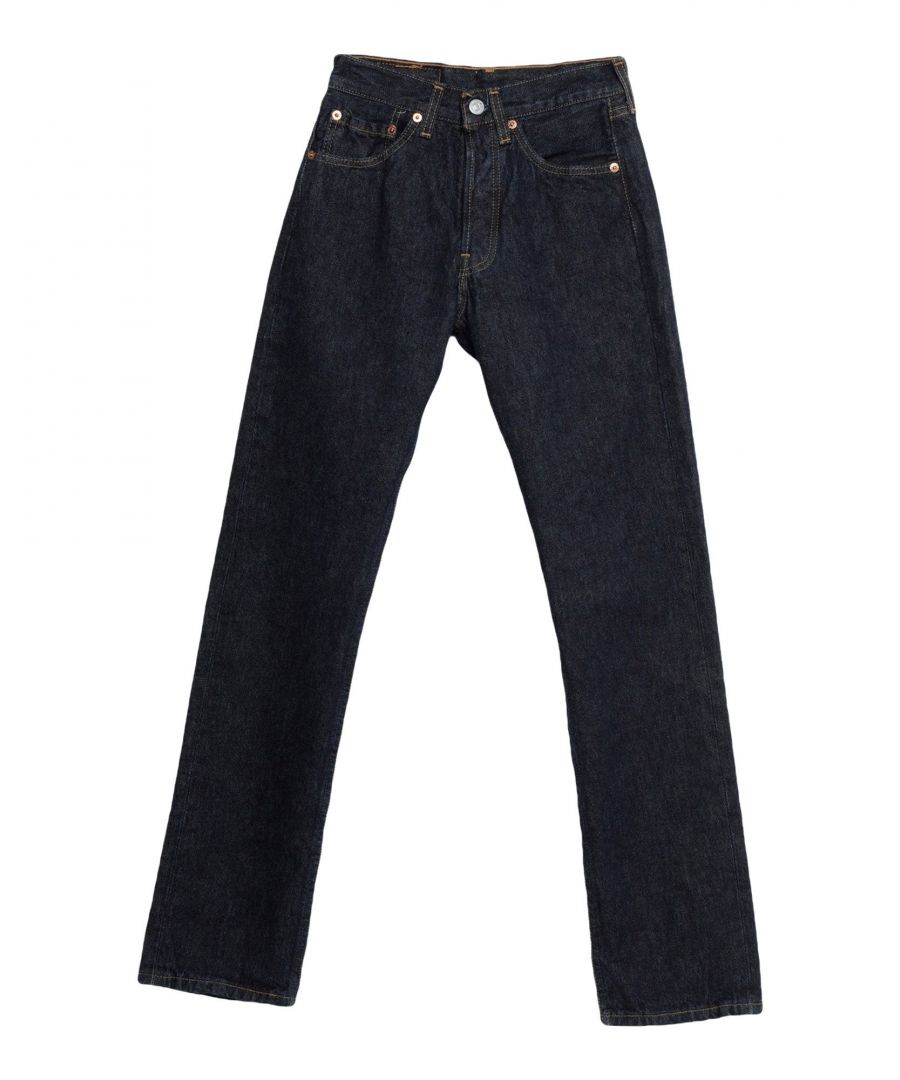 Image for Levi's Blue Cotton Jeans