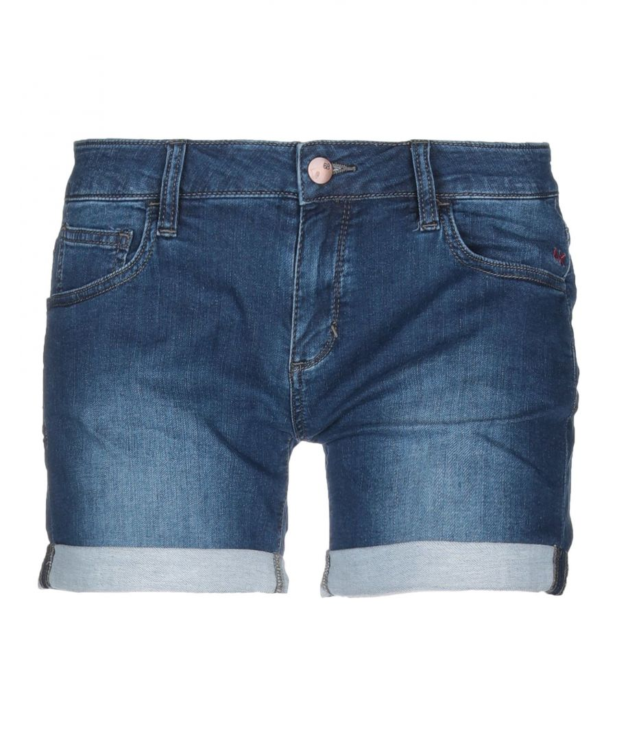Image for Sun 68 Blue Denim Shorts
