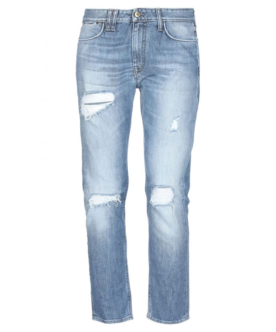 Image for Cycle Blue Distressed Cotton Jeans