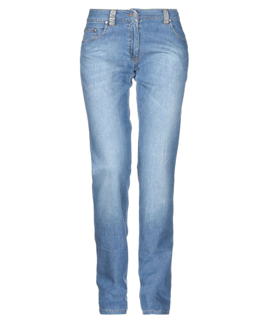 Image for Daniele Alessandrini Blue Cotton Jeans