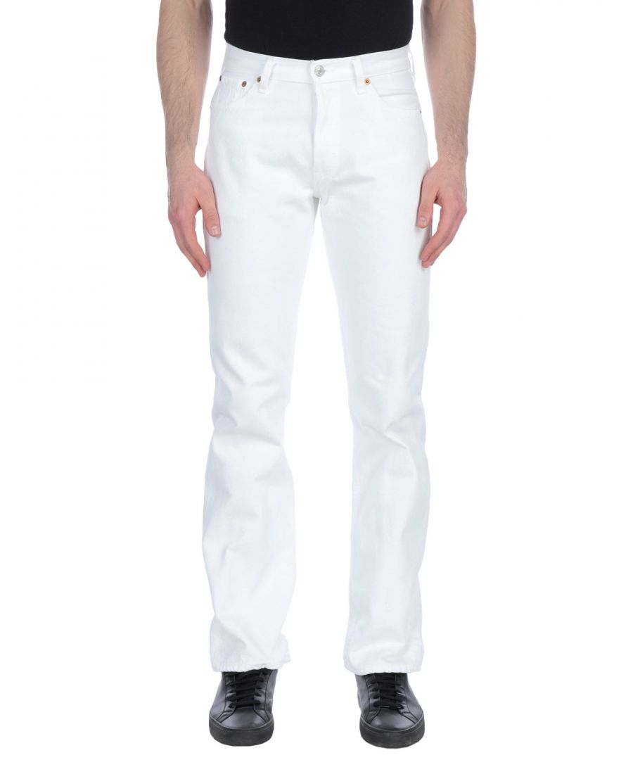 Image for Levi's White Cotton Jeans