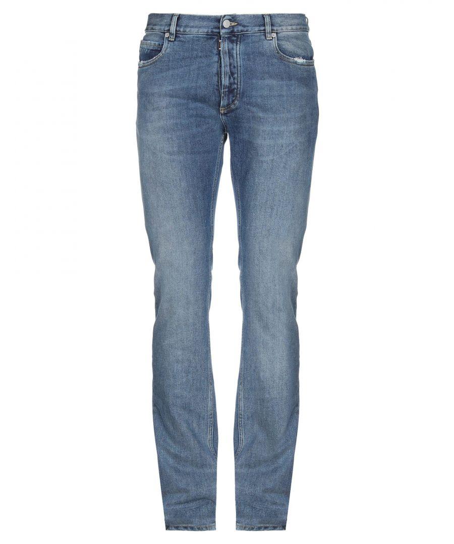 Image for Maison Margiela Blue Cotton Jeans