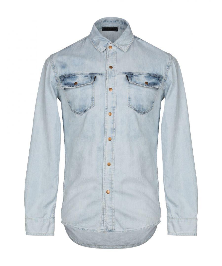 Image for Jil Sander Blue Denim Shirt
